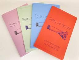 cahier Notes de cuisine